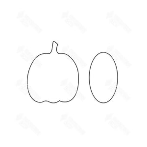 SVG File - Pumpkin Card Holder