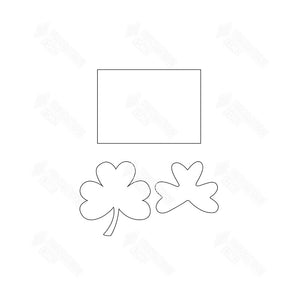 SVG File - Welcome Sign - Mar Shamrock