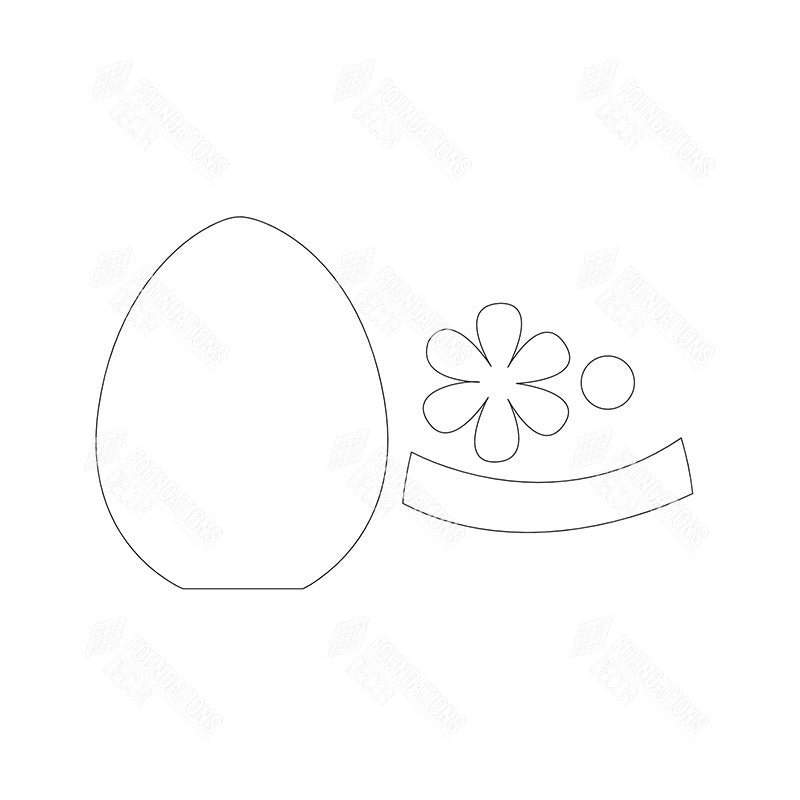 "SVG File - Home - April ""O"" Egg"