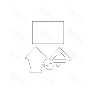 SVG File - Welcome Sign - May Birdhouse