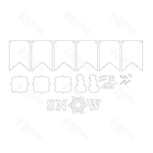 SVG File - Snow Banner