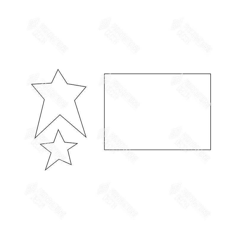SVG File - Welcome Sign - July Stars