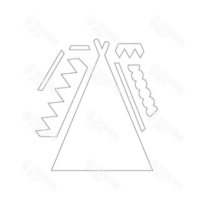 SVG File - Teepee