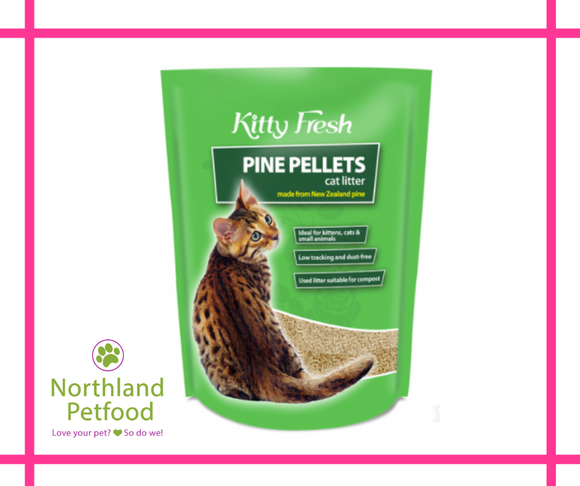 Kitty Fresh pine pellets 10l