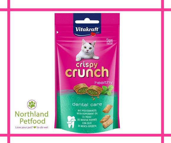 Vitakraft Crispy Crunch Healthy- Dental Care 60g