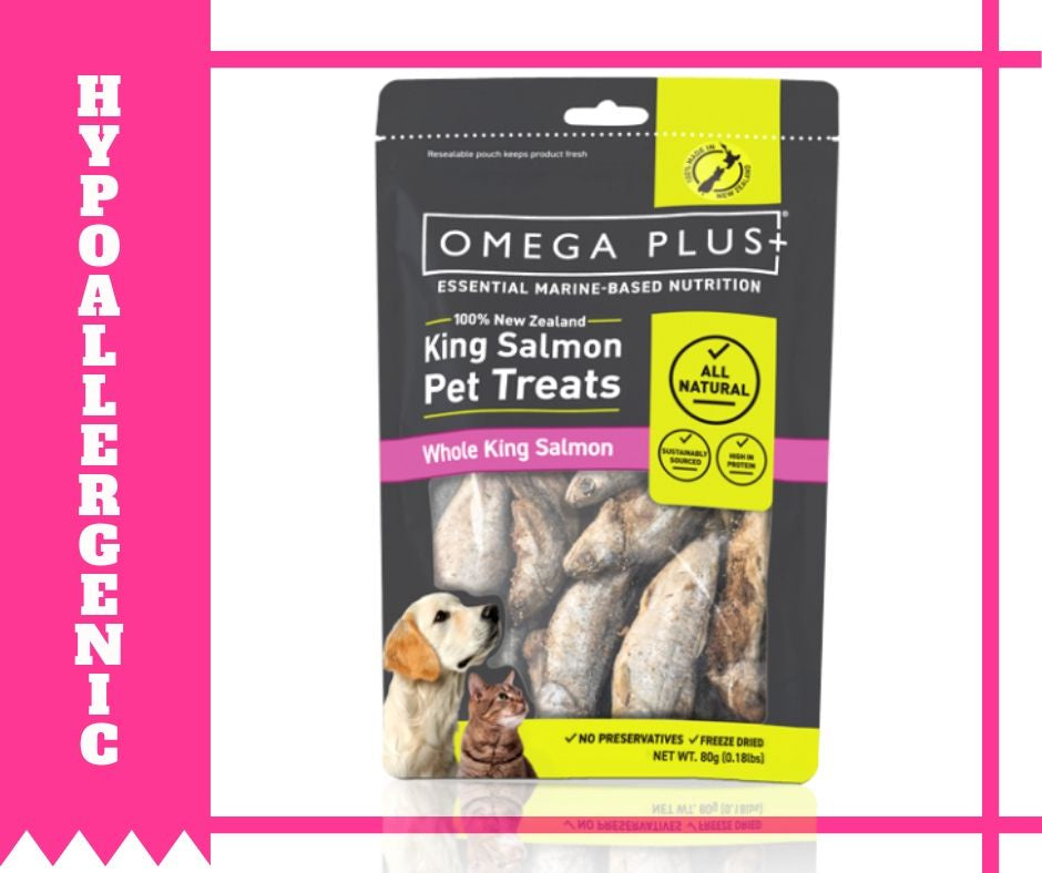 Omega Plus- Whole King Salmon