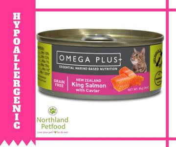Omega Plus- King Salmon with Caviar 85g- Buy 6 Get 10% Off!