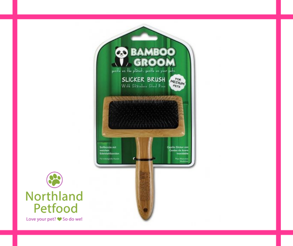Bamboo Groom Slicker Brush