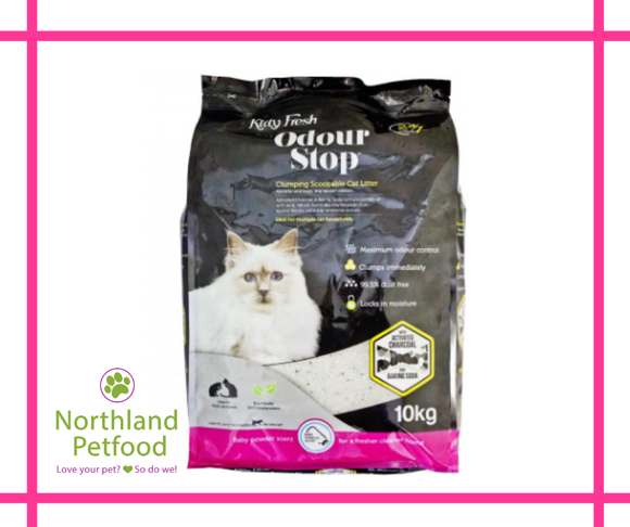 Kitty Fresh Odour Stop Litter 10kg