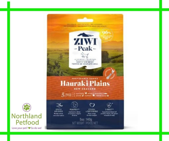 ZIWI Peak Provenance Hauraki Plains- CAT food