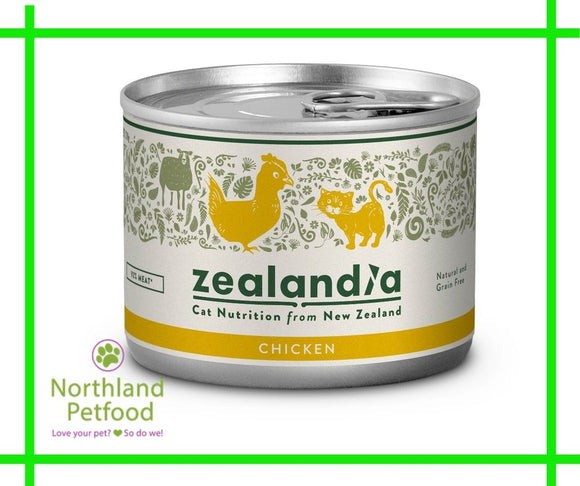 Zealandia Cat Food Chicken 185g- Buy 10 & get 1 Free