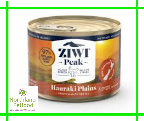 ZIWI Peak Provenance Hauraki Plains- Canned CAT food