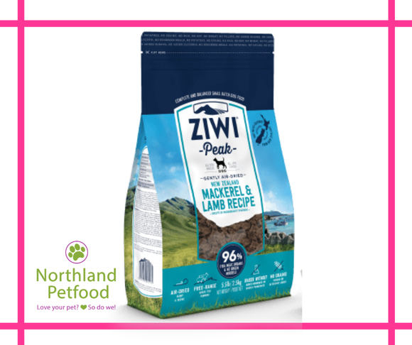 ZIWI Peak Air Dried Mackerel and Lamb 454g