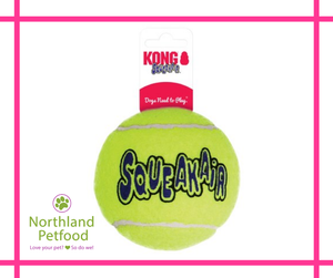 Kong Squeak Air Tennis Ball- Large