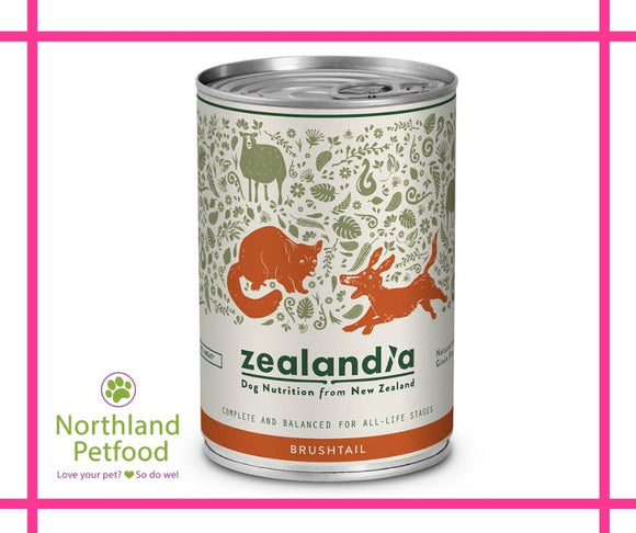 Zealandia Dog Food Brushtail 385g-Buy 10 Get 1 Free