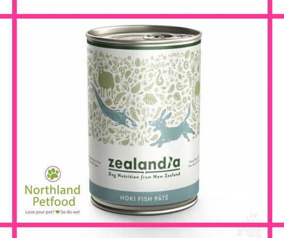 Zealandia Dog Food Hoki 385g- Buy 10 Get 1 Free