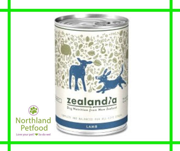 Zealandia Dog Food Lamb 385g- Buy 10 Get 1 Free