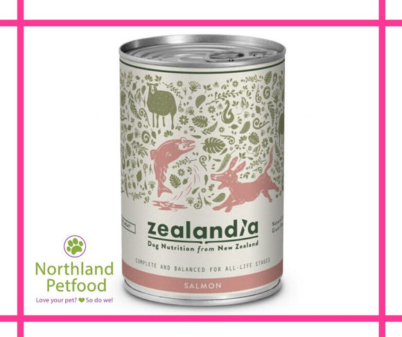 Zealandia Dog Food Salmon 385g- Buy 10 Get 1 Free