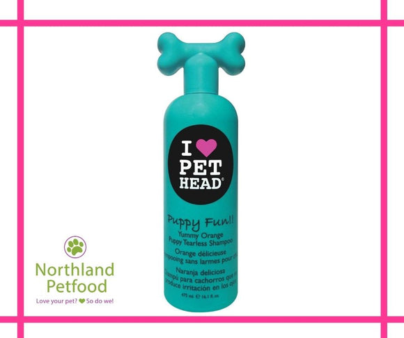 Pet Head Puppy Fun Shampoo Yummy Orange 475ml