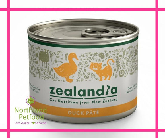 Zealandia Cat Food Duck 185g- NEW- Buy 10 Get 1 Free