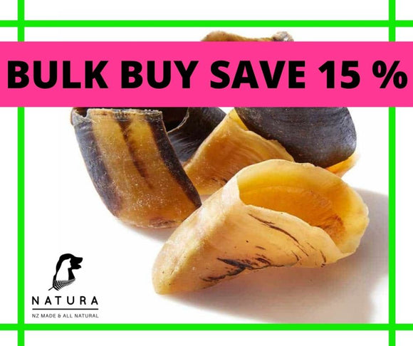 Natura Cow Hooves BULK x 30 SAVE 15%