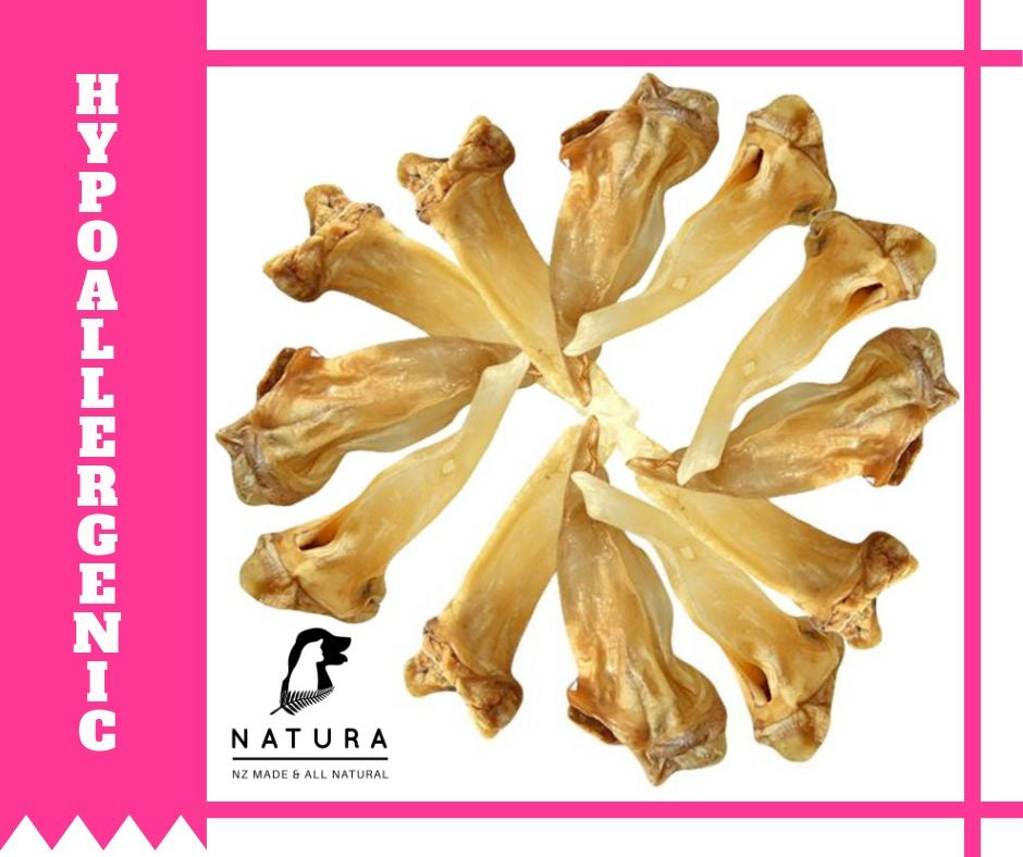 Natura Venison Ears- Buy 10 Get 1 Free!