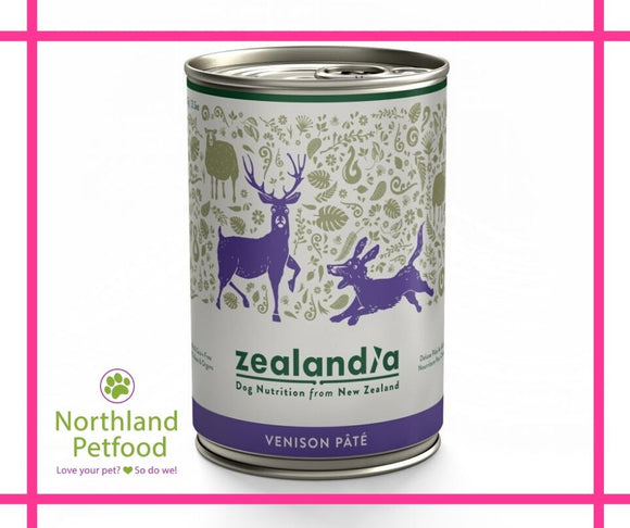 Zealandia Dog Food Venison 385g-Buy 10 Get 1 Free  $6.99