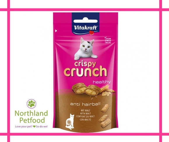 Vitakraft Crispy Crunch Healthy- Anti-Hairball  60g