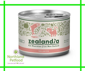 Zealandia Salmon Cat Food 185g- Buy 6 Get 10% Off!