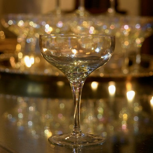 Just In: Lustrous Champagne Coupes