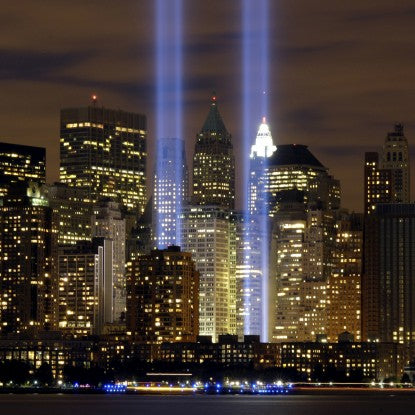 "Photo of ""Tribute in Light"" by Denise Gould"
