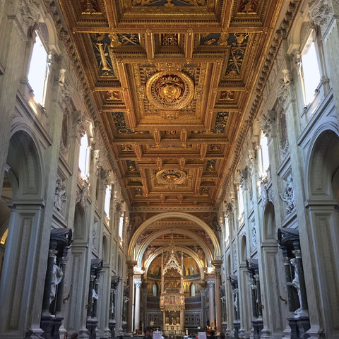 Central Nave of San Giovanni in Laterano in Rome (LEO Design)