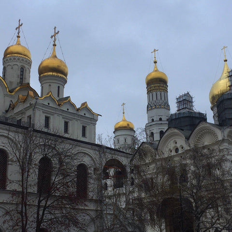 Cathedral Square Within Moscow's Kremlin Walls (LEO Design)
