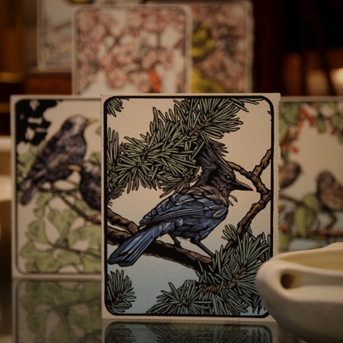Collection of Beautiful Birds Greeting Cards by Daniel Joseph Durkin (LEO Design)