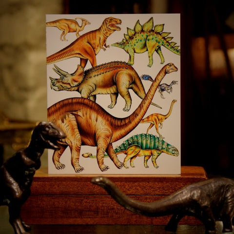 Dinosaur Card from London's Museum of Natural History (LEO Design)