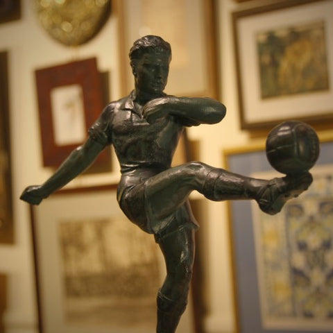 Mid-Century Football Trophy/Sculpture (LEO Design)