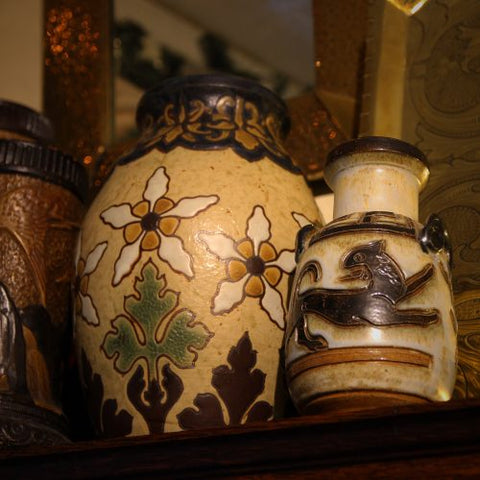 Collection of Art Pottery at LEO Design