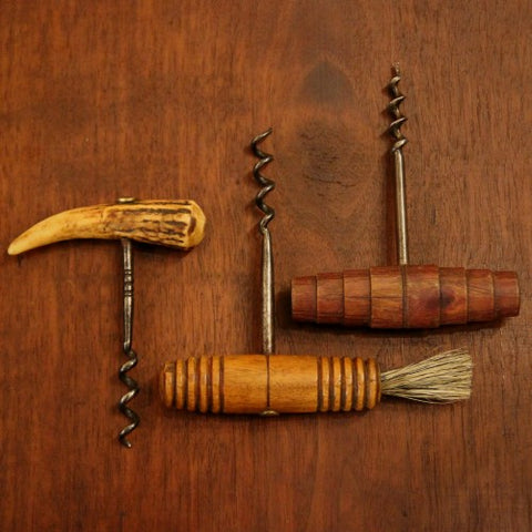 A Collection of Vintage French and English Corkscrews (LEO Design)