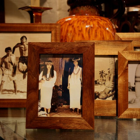 Collection of Hawaiian Koa Wood Photo Frames (LEO Design)