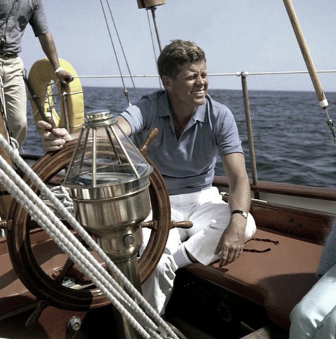 John F. Kennedy at the Helm (LEO Design)