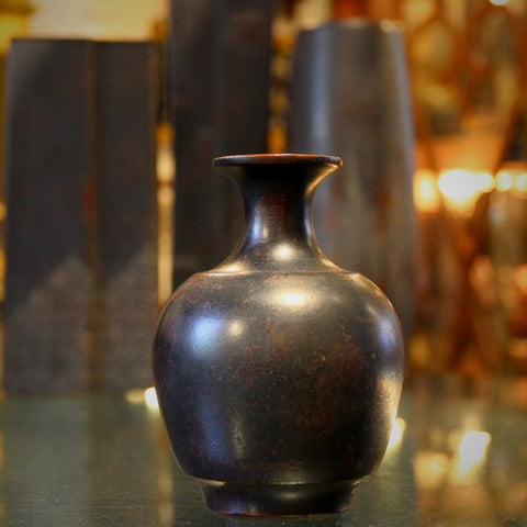 Japanese Cast Zinc Vases (LEO Design)