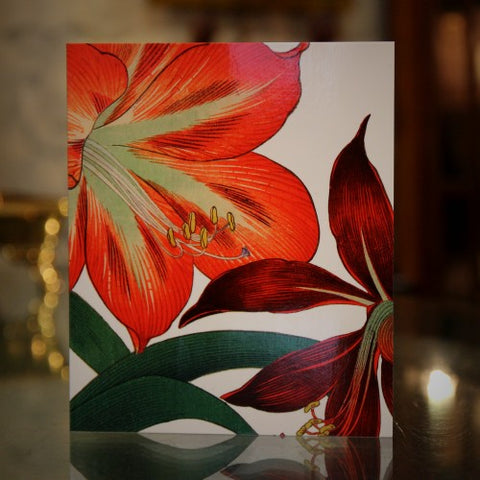 British Lilies Greeting Card (LEO Design)