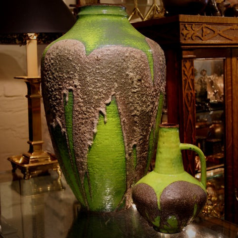 Large Floor Vase and Pitcher by Gerda Heuckeroth for Carstens (LEO Design)