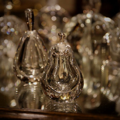Swedish Crystal Perfume Bottles by Kosta Boda (LEO Design)