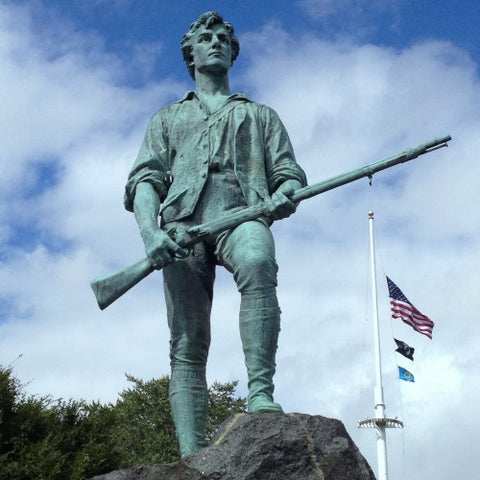 Minuteman Sculpture by Henry Hudson Kitson in Lexington, Massachusetts (LEO Design)