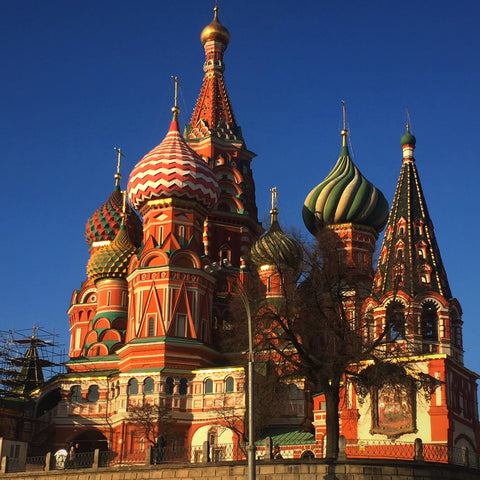 Saint Basil's Cathedral in Moscow's Red Square (LEO Design)