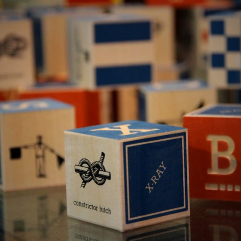 Wooden Nautical Blocks (LEO Design)