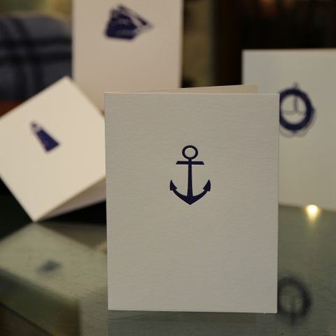 Letterpress Nautical Cards (LEO Design)