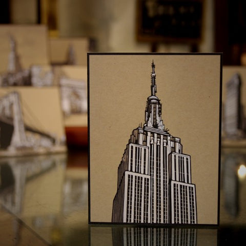 New York Architectural Icons Greenting Cards by Dan Durkin (LEO Design)