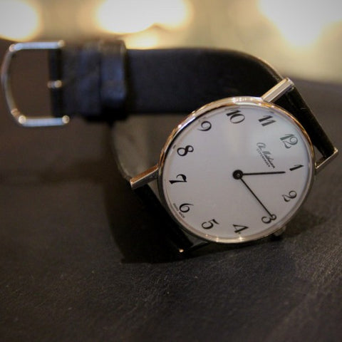 Ole Mathiesen Danish Wristwatch with Classic Arabic Numerals (LEO Design)